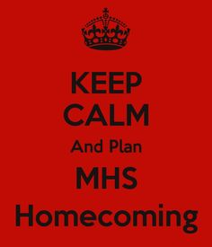 Yep! Just as it says, planning for McDowell High School's Homecoming!