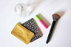 I remove makeup with flowers . and without creating waste Sewing Tutorials, Sewing Projects, Pretty Kids, Makeup Wipes, Make Up Remover, Free Sewing, Stocking Stuffers, How To Make, Handmade