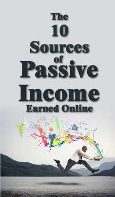 The 10 Sources of Online Passive Income | Unfair Edge - Life Hacks, Solo-preneurship & Passive Income!