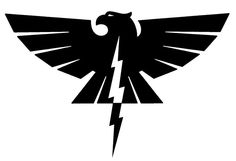 The symbol of the race Thunderbird Folk. Thunderbird Folk live in the Northern Quarter of Thalesh in their section of land called Stresa and their main city is called Reah.