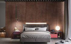 Corten Love on Behance Furniture Sets Design, Modern Bedroom Furniture Sets, Bedroom Modern, Kitchen Furniture, Luxury Furniture, Luxury Bedroom Design, Luxury Home Decor, Home Interior, Interior Design