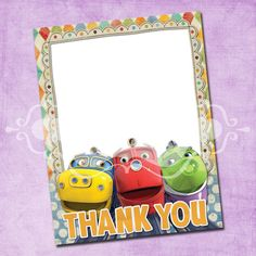 Chuggington thank you cards