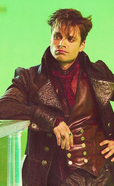 This guy. Sebastian Stan, Once Upon a Time. Mad Hatter.♥ can't wait for him to be back next year