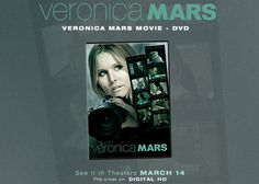 Are You the Ultimate Marshmallow? Veronica Mars Movie DVD Giveaway | Woman Tribune