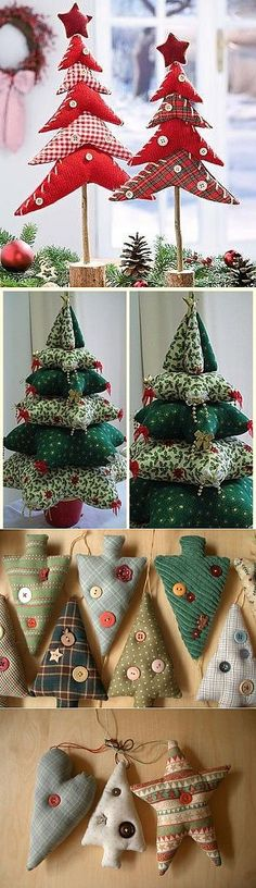 Amazing Home Sewing Crafts Ideas. Incredible Home Sewing Crafts Ideas. Christmas Makes, Noel Christmas, Rustic Christmas, Handmade Christmas, Christmas Ornaments, Diy Ornaments, Christmas Ideas, Christmas Sewing Projects, Holiday Crafts