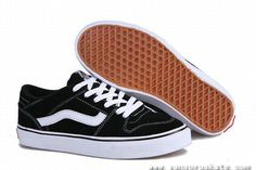new arrival 8af4e 1cac5 DAILY VANS TNT LOW TOP BLACK WHITE SHOE VANS FOR SALE Zapatillas, Zapatos  Vans Para