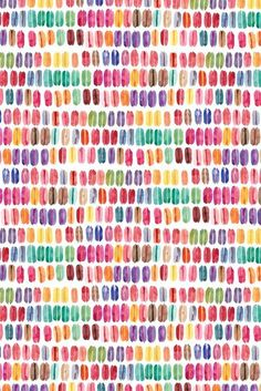 Image of macaroons (wrapping paper) Kawaii Wallpaper, Iphone Wallpaper, Macarons, Macaroon Wallpaper, Textures Patterns, Print Patterns, Hobbies And Crafts, Arts And Crafts, Conversational Prints