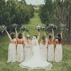 Make all your bridesmaids happy when you choose the perfect bridal party dresses for your wedding day. Wedding Fayre, Wedding Bells, Wedding Aisles, Wedding Backdrops, Wedding Ceremonies, Ceremony Backdrop, Ceremony Decorations, Wedding Reception, Wedding Show