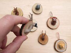 teeny tiny DIY taxidermy