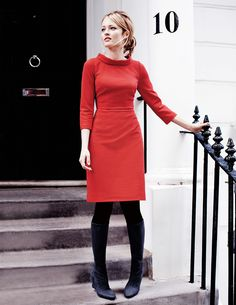 Zoe Dress WH717 Work at Boden