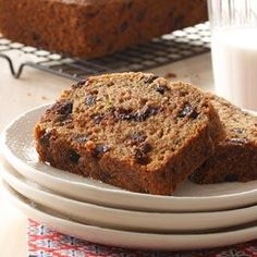 Zucchini Chip Loaves Recipe from Taste of Home -- shared by Chantelle Ross of Forest Grove, British Columbia