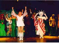 Summer opera production of 'Die Fledermaus,' Gulbenkian Theatre, 2002