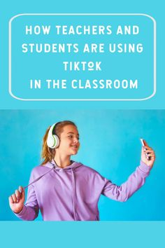 Teachers are now using TikTok in the classroom to take advantage of the popularity of this short-form video, social media app. Early Learning, Fun Learning, Teaching Kids, Educational Games, Educational Technology, Short Form, Digital Citizenship, Student Success, Blended Learning