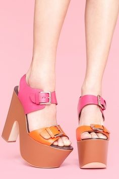 pink & orange, love!