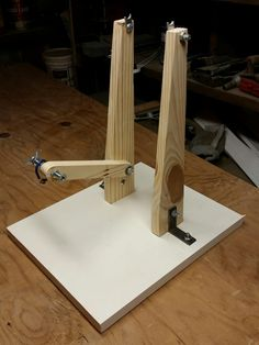 Save over $100.00 making your own bicycle wheel truing stand. I did and you can too.