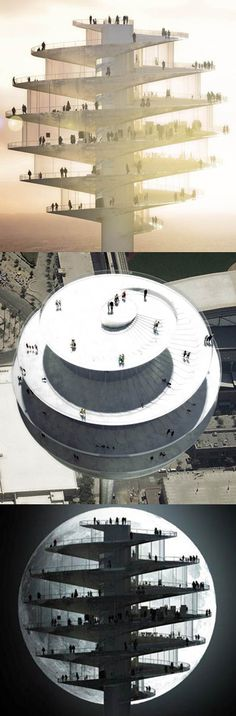 Observation tower, Phoenix, Arizona I would need therapy prior to going to this and maybe after due to the height.