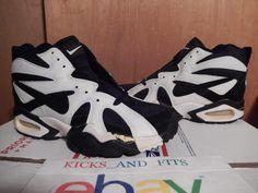 3816daee4dfd VTG OG 1994 1995 Nike Air Diamond Fury Ken Griffer Jr Shoes DS White Black  8