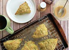 Green Tea Scones (using Matcha tea!) from {{Boxes & Jars}}
