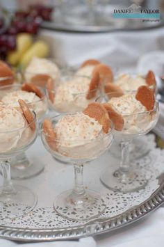 banana pudding instead of grooms cake