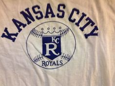 Vintage Kansas City Royals 1970's Ringer by Vintagewearsforever, $25.00