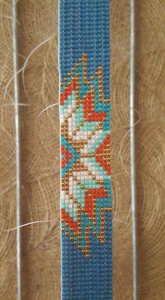 Loom Bracelet Patterns, Seed Bead Patterns, Bead Loom Bracelets, Perler Patterns, Beading Patterns, Beaded Earrings Native, Native Beadwork, Seed Bead Jewelry, Beaded Jewelry