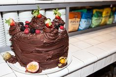 202 Triple Chocolate Cake