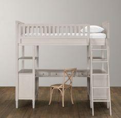 Emelia Study Bunk Bed | Bunk Beds | Restoration Hardware Baby & Child