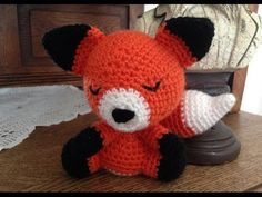 Amigurumi Fox (Free Pattern) Video, free Ravelry download, thanks so xox ☆ ★ https://www.pinterest.com/peacefuldoves/