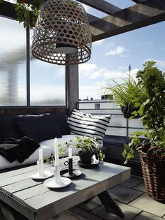 Comfy balconies to celebrate long summer evenings on (via Bloglovin.com )