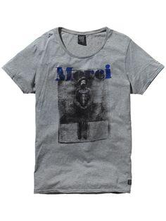 T-Shirt mit Foto-Print | Jersey-T-Shirts & -Tops S/S | Herrenbekleidung von Scotch & Soda