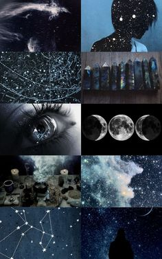 The antagonist of history - astronomy witch aesthetics (x) . - The antagonist of history – astronomy witch aesthetics (x) The antagonist of - Witch Aesthetic, Aesthetic Collage, Sky Aesthetic, How To Be Aesthetic, Aquarius Aesthetic, Aesthetic Bedroom, Fantasy Kunst, Moon Child, Ravenclaw