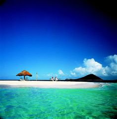 Mopion - St.Vincent and the Grenadines- this is one spot that I would love to spend a day.