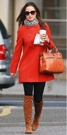 Love it all except the boots!;) I actually have that coat in Navy and Teal. It's from Zara.