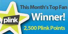 Congratulations to Bill O. as he finished in the Top 5 Fans and was randomly selected September's Top Fan for 2,500 Plink Points!    Sign up on our Rewards Page so you can win!
