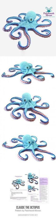 Claude The Octopus Amigurumi Pattern