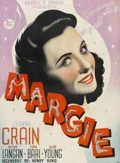 Margie (1946) Margie and her daughter reminisce about Margie's girlhood in the roaring twenties. In flashback, Margie, a smarter, less popular girl at Central High, meets handsome new French teacher R