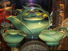 Rare McCoy Tea Set