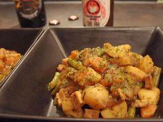 Tofu and seaweed stew