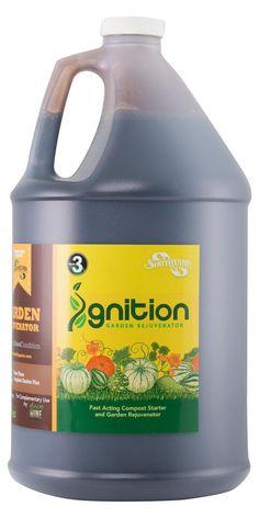 Compost Starter 🔥 Ignition Garden Rejuvenator