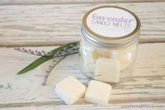 Make your own Candle Melts with essential oils! via createcraftlove.com