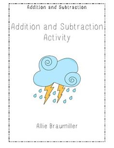 This activity could be used to incorporate math (addition and subtraction) into our Texas Climate unit lesson plan.