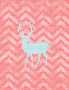 Free Printable Wall Art - Deer