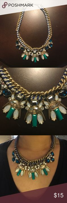 J. Crew statement necklace Super cute necklace perfect for the summer! In perfect condition! J. Crew Jewelry Necklaces