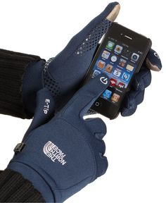 """The North Face """"Etip"""" Gloves. I'd want black."""