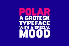 Polar Regular Free Typeface is a grotesk typeface with a special mood. This one is coming to you from Daniel Uzquino, which also the part