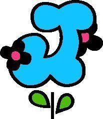 Alfabeto flores de primavera para imprimir! Moldes de letras com flores para feltro, eva, painéis e murais! - Alfabetos Lindos