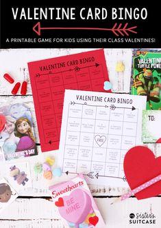 Valentine Card Bingo