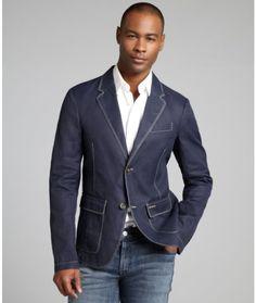 Men&39s Blue Guilford Denim Sport Coat | Coats Ralph lauren and Polos