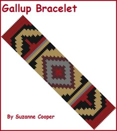 Gallup Rug Bracelet at Sova-Enterprises.com