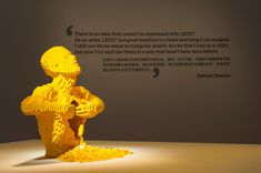 The Art of the Brick: Outstanding LEGO Artworks by Nathan Sawaya